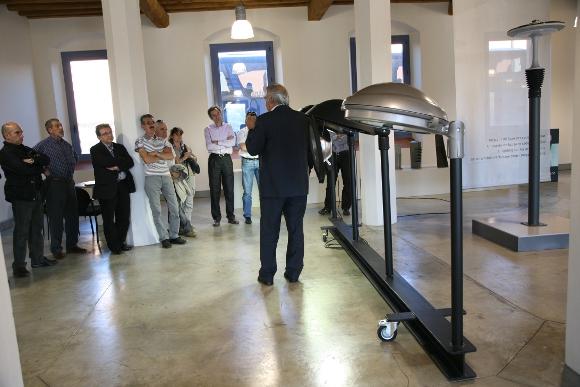 Visita dels Comuns d'Andorra al showroom de BENITO URBAN