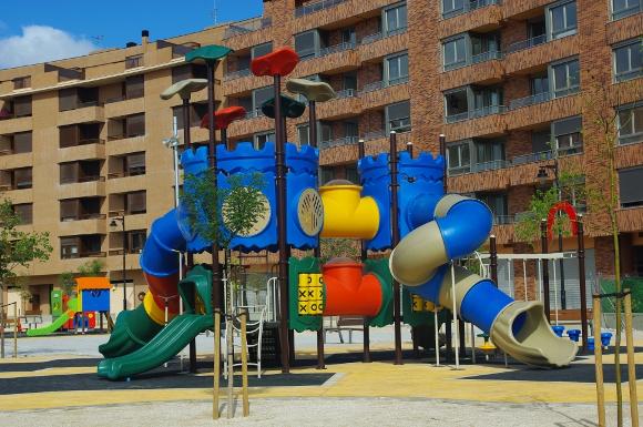 Conjunto Modular JR306 - Parques infantiles BENITO URBAN