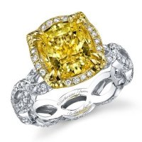 Rarest of them all: Yellow Diamond Engagement Ring
