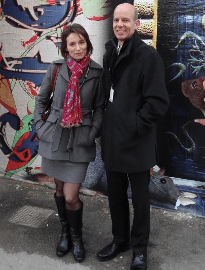 Caroline & Warren at Pitti Filati 72