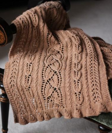 Effloresce Shawl by Amy Antler