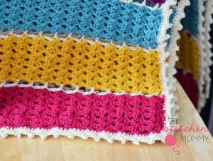 Jeweled Lattice Afghan by Amy Ramnarine