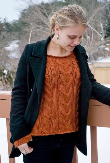 Aibell Pullover by Kelene Kinnersly
