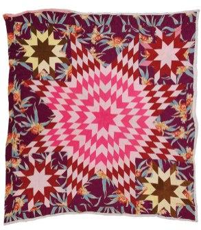 """Ella Mae Irby, born 1923. """"Texas Star"""", 1973"""