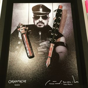 Caran d'Ache Limited Edition Fountain Pen at the New York National Stationery Show
