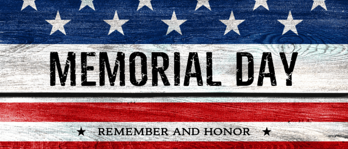 Have A Meaningful Memorial Day!