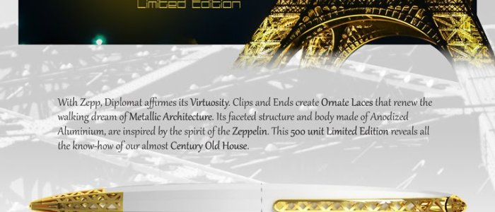 Diplomat Zepp Limited Edition Pen Collection