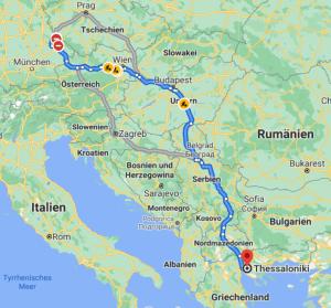 Reise nach Griechenland – Reisevorbereitungen