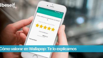 como valorar wallapop