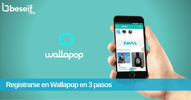 Registrarse en Wallapop