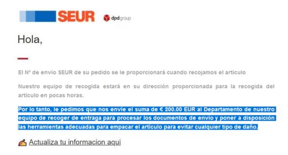 estafa phishing milanuncios
