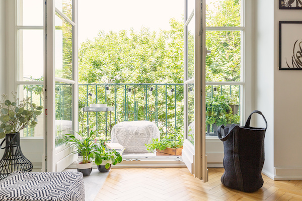 How do you make the most of your small balcony space?