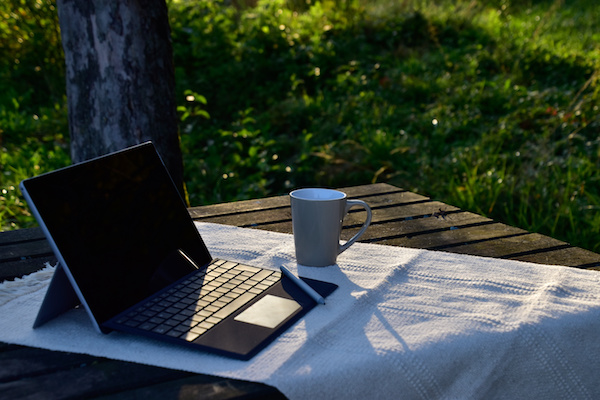How to transform your backyard space into a home office, classroom