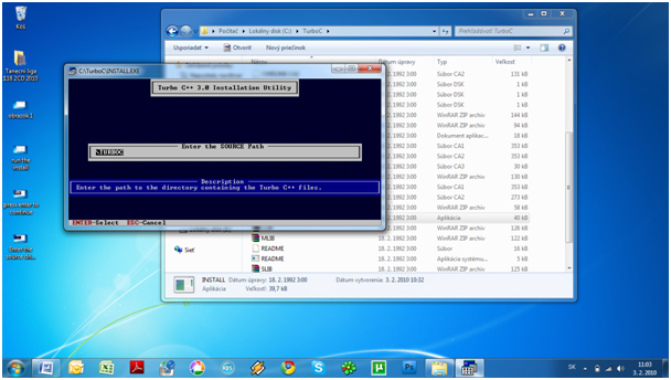 step5 How to install Turbo C++ on Windows 7
