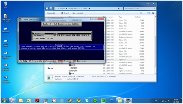 step6 How to install Turbo C++ on Windows 7