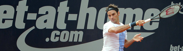 Federer bei den bet-at-home Open 2013