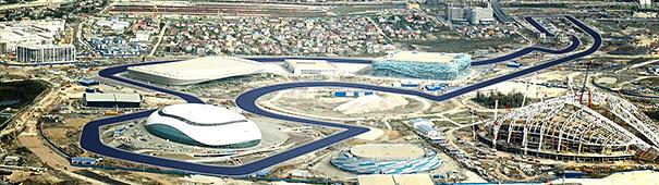 F1 Grand Prix Russland in Sotchi