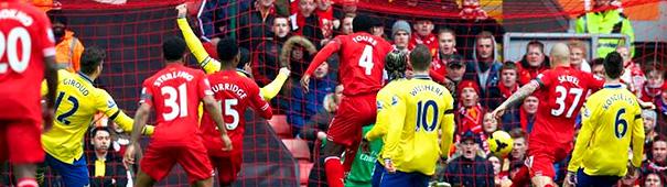 Liverpool vs. Arsenal