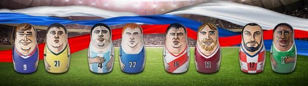 WM 2018 - Frankreich vs. Australien, Argentinien vs. Island, Peru vs. Dänemark, Kroatien vs. Nigeria