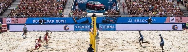 Beachvolleyball Vienna Majors