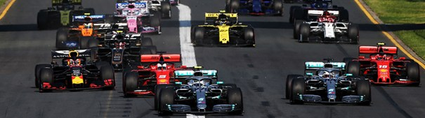 F1 Grand Prix Start
