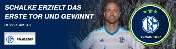 Bundesliga-Vorschau S04 Promi-Tipp Olivier Caillas