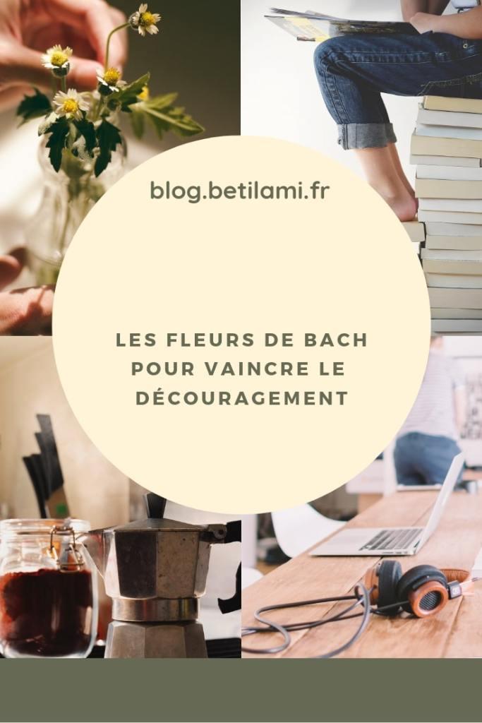 les fleurs de Bach et le découragement