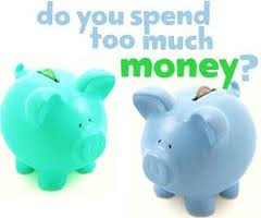 spending too much