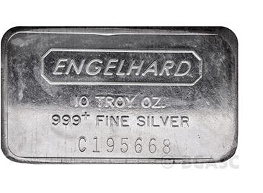 10 ounce Englehard silver