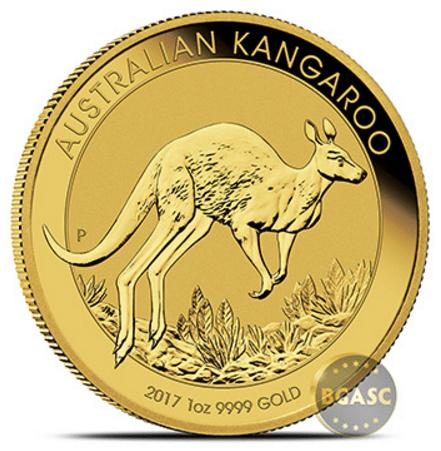 2017 gold kangaroo
