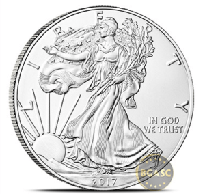 2017 silver eagle front