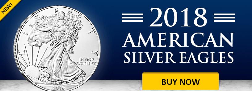 2018 American Silver Eagle banner