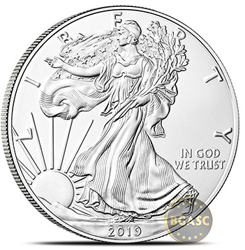 2019 silver eagle front