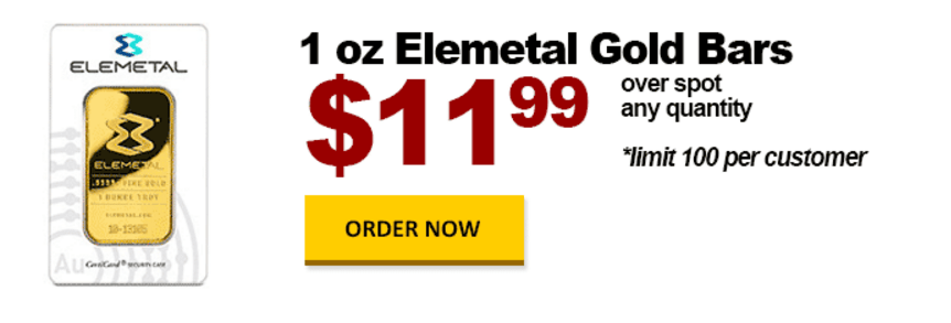 one ounce gold elemental black friday bgasc