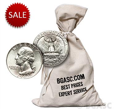 $500 silver quarter bag