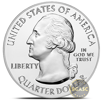 America the beautiful obverse