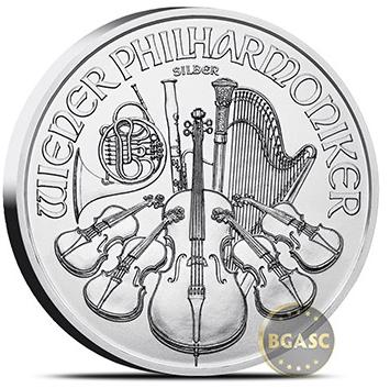 Austrian silver philharmonic back