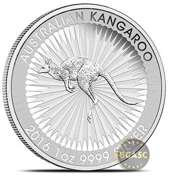 BGASC australian silver kangaroo coin