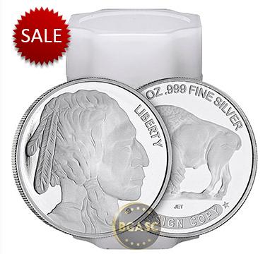 Buffalo silver rolls