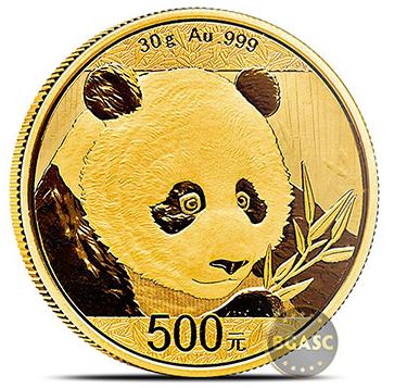 Chinese gold Panda 30 g