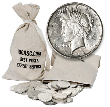 Cull Peace dollar bag
