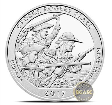 George Rogers Clark ATB coin 2017