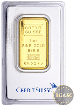Gold Bar Credit suisse