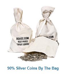 Junk silver bag bgasc