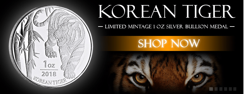 Korean Tiger banner