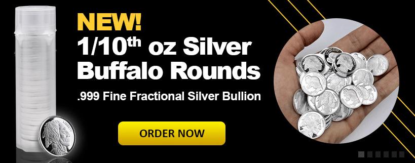 Silver Buffalo 1.10 rounds banner