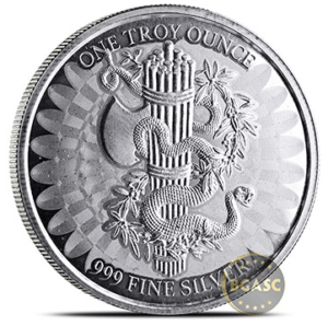 Silver liberty and unity round back