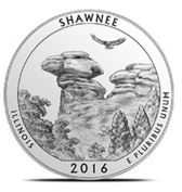 shawnee national forest america the beautiful coin ATB