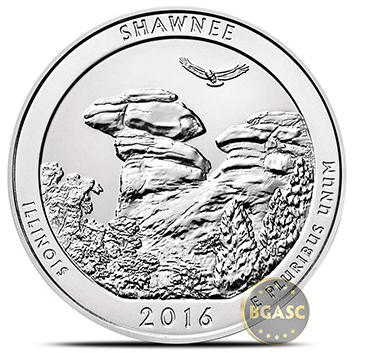 shawnee five ounce silver coin sales