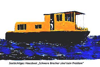 Hausboot vor Acapulco
